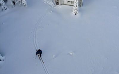 Vitbergsstugan skidåkare